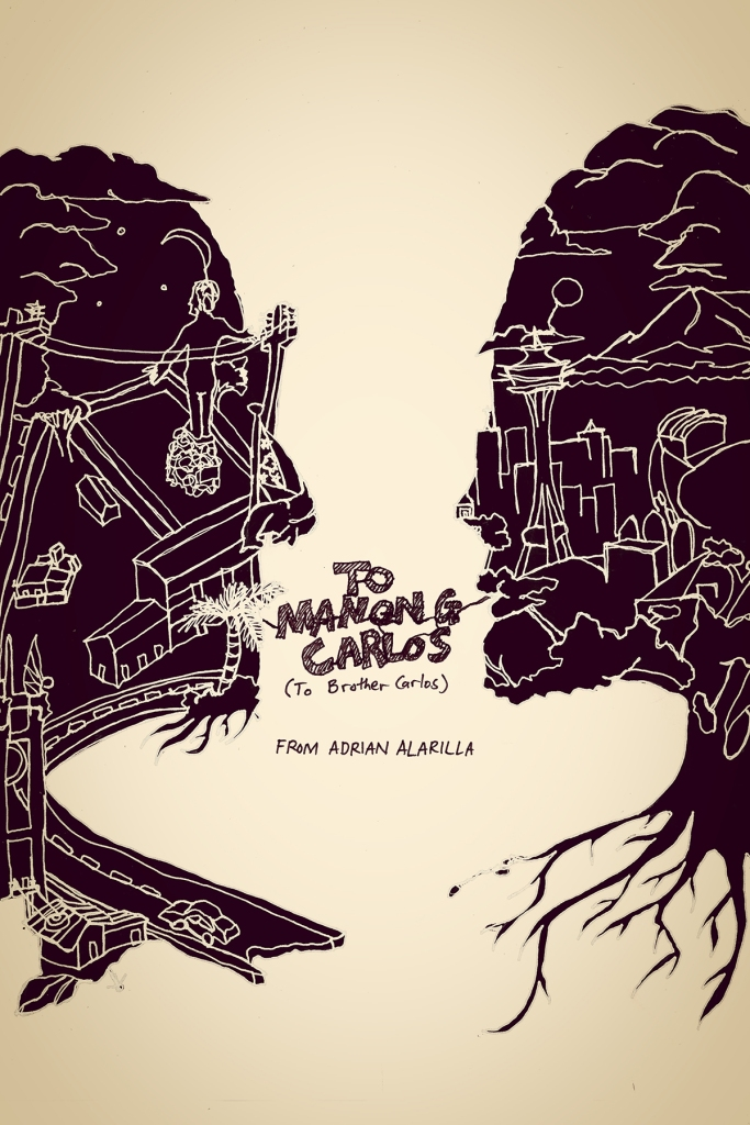 Illustrated poster of To Manong Carlos