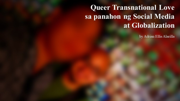 Poster of Queer Transnational Love